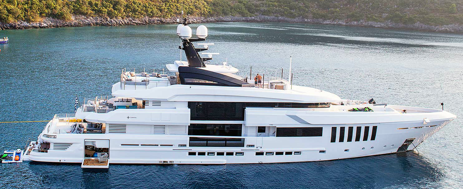 Models of Motorboats, Yachts, and Superyacht models