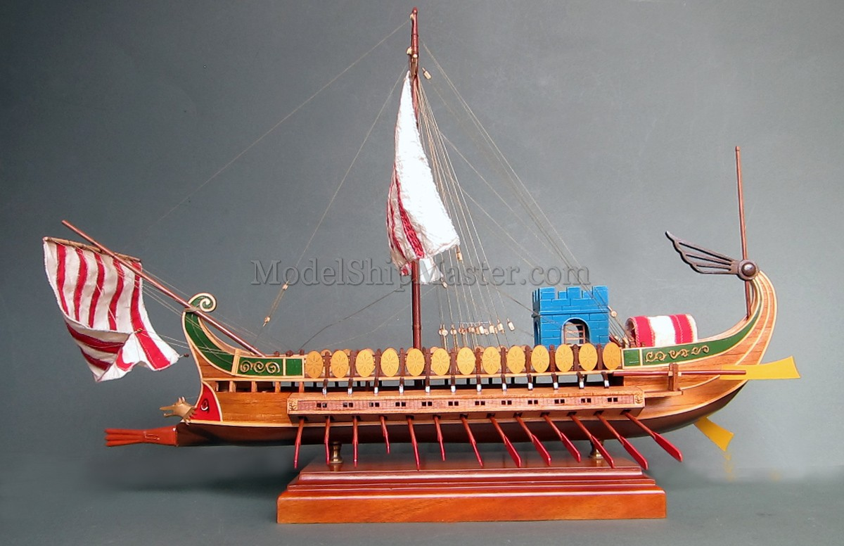 Caesar 39 s galley model ship for Galley images
