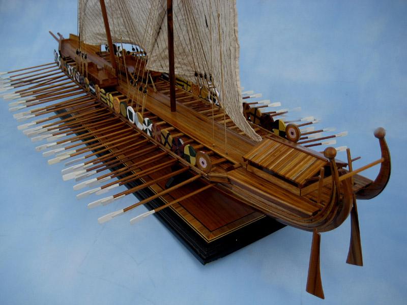 Byzantine Dromon Ship Model