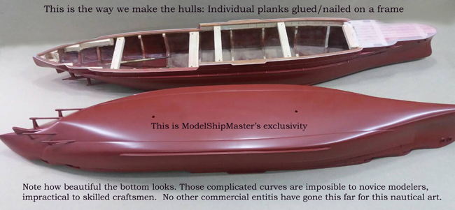 Bottom paint for ship models