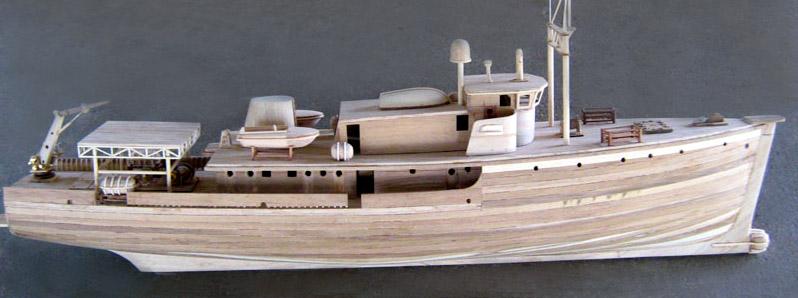Calypso Model Boat Fine Work