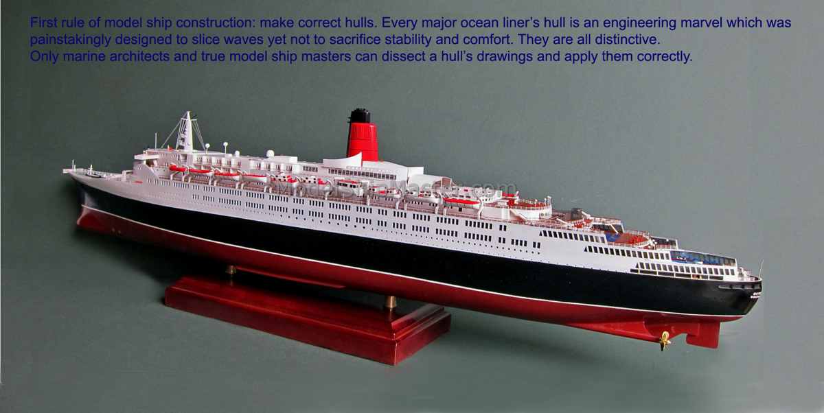 Queen elizabeth 2 classic transatlantic ocean liner like all of our ocean liner models this qe2 has the following distinguished qualities baanklon Gallery