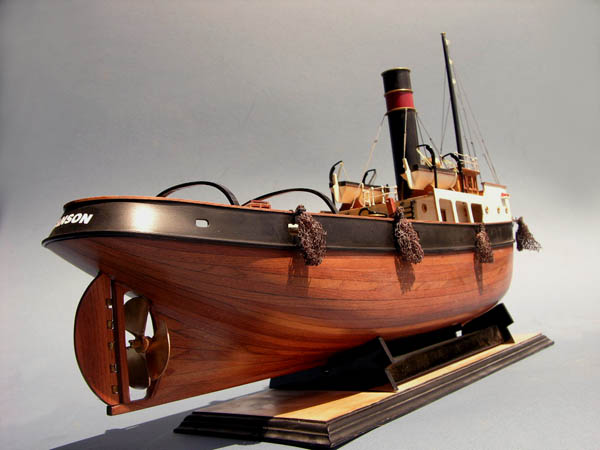 Rugged Liners Sanson Tugboat model
