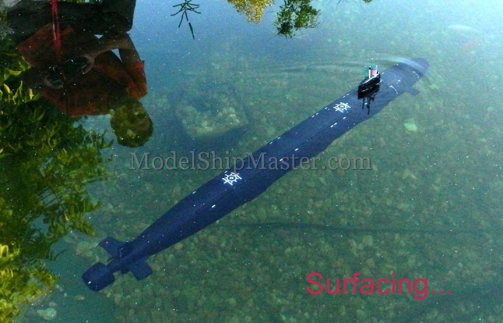 Uss North Dakota Ssn 784 Rc Submarine Model
