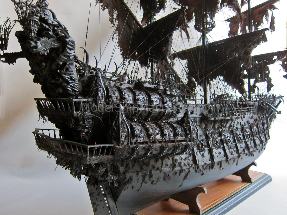 Build Model Pirate Ship Boat Plans Wooden