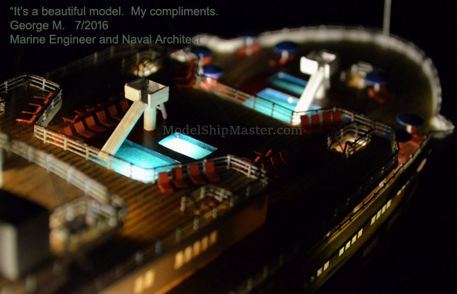 Authentic And Beautiful Ocean Liner Models From Model Ship