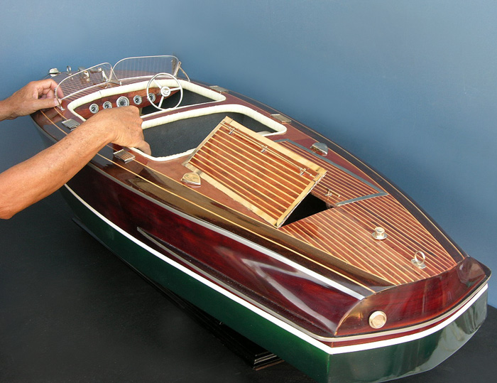 Barrel Back Chris Craft