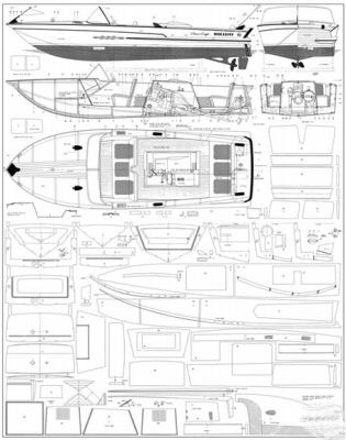 Chris craft boat building plans 30x40