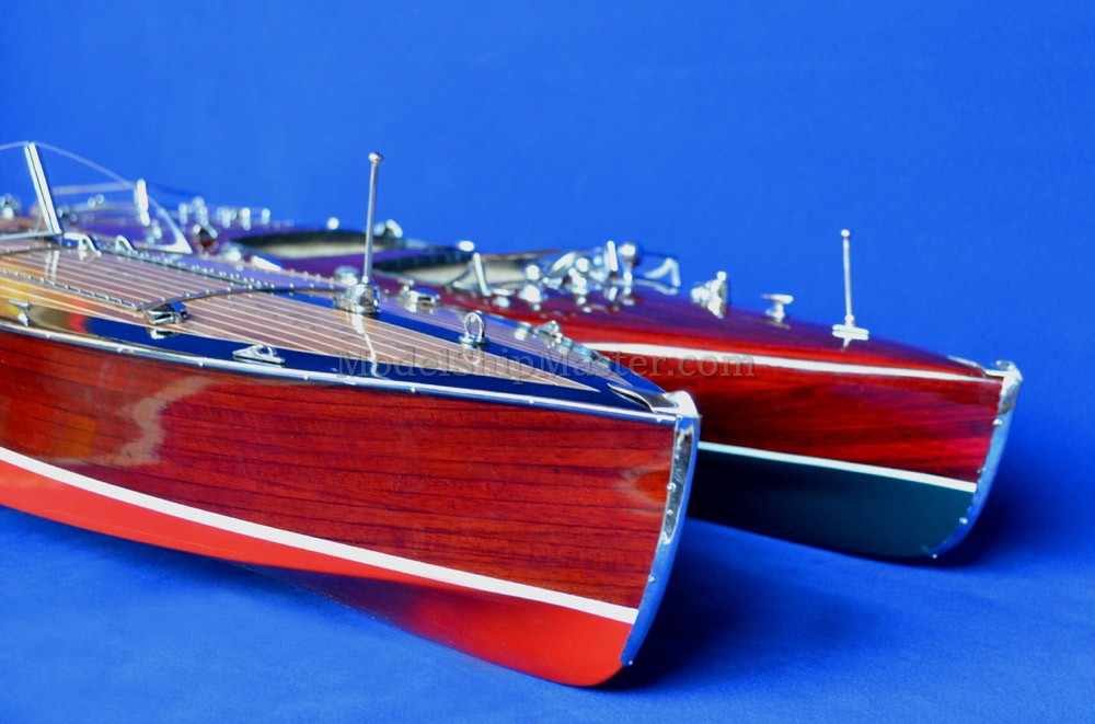 TYPHOON classic racing boat model