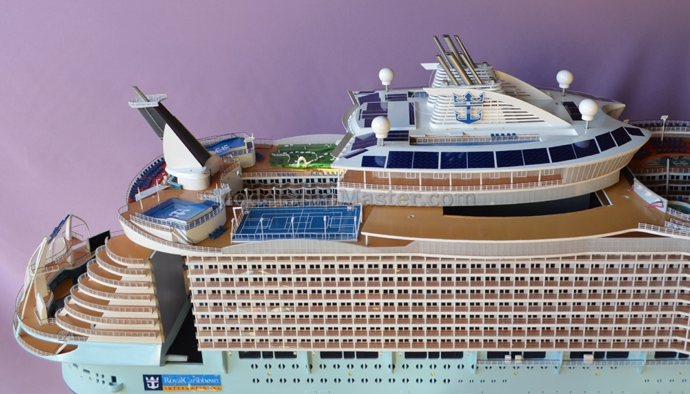 Remote Control Cruise Ship Model Oasis Of The Seas - Remote control cruise ship