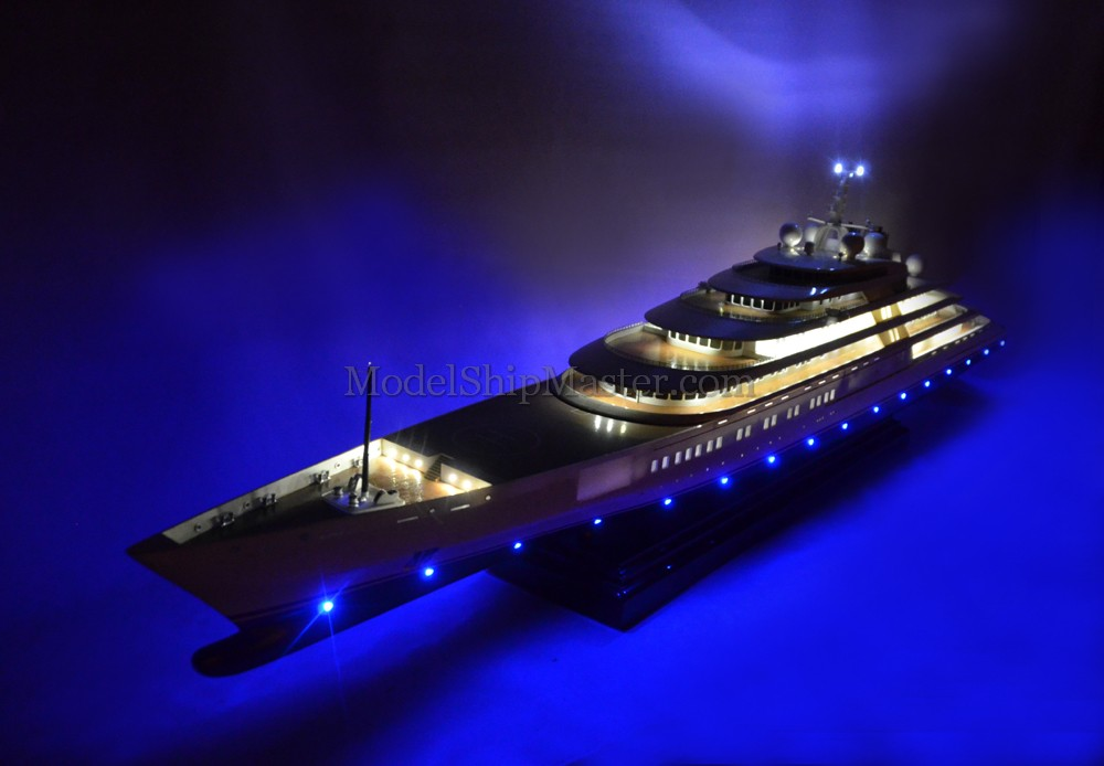 Azzam Mega Yacht Model
