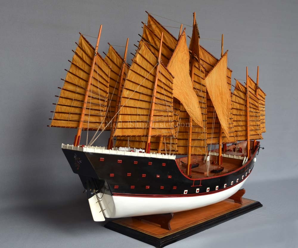 Zheng He S Treasure Boat Chinese Junk Model Ship