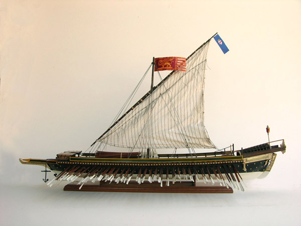 Venetian galley model ship for Galley images