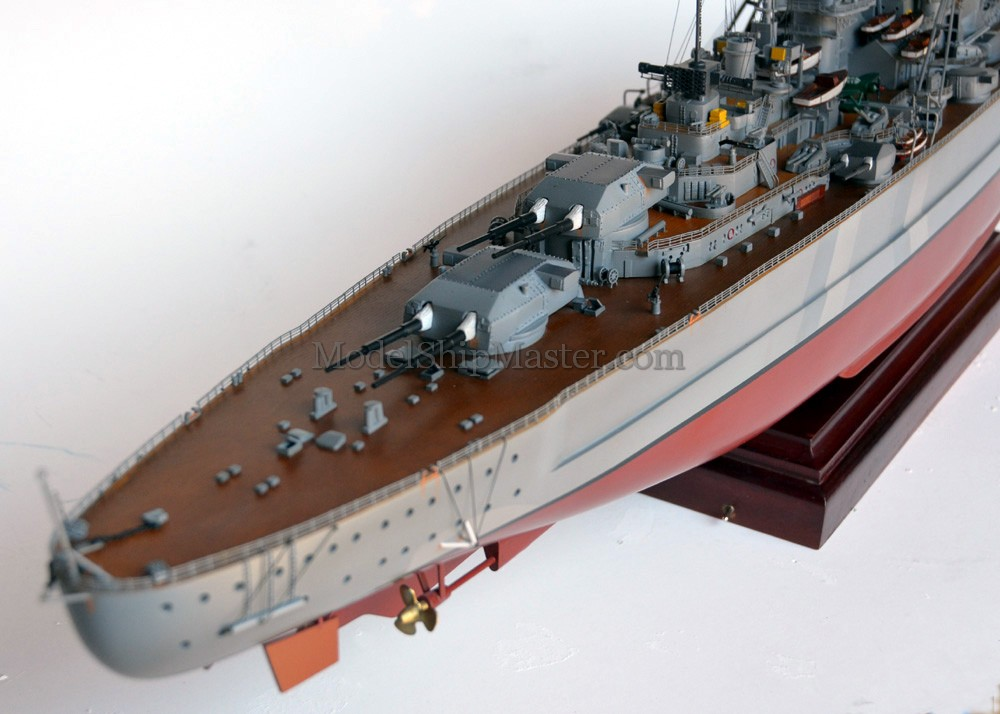The World 39 S Number One Model Of The Bismarck Battleship