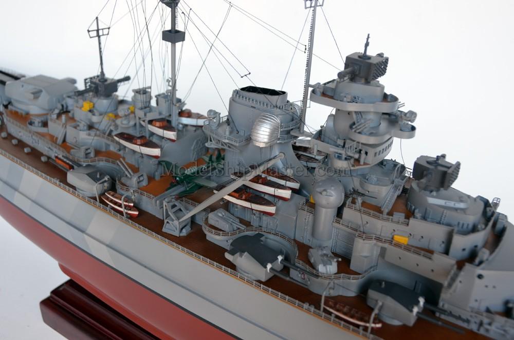 The World's Number One Model of the Bismarck Battleship