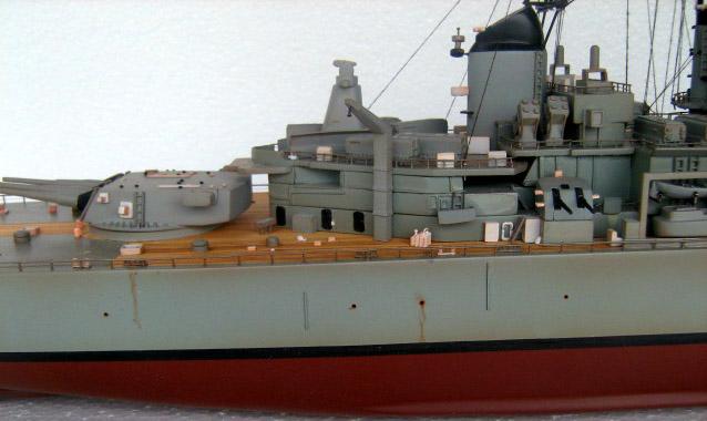 USS Missouri BB 63 battleship model