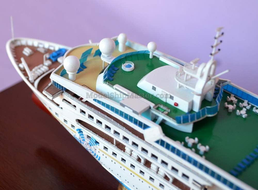 Celestyal Nefeli Cruise Ship Replica Model