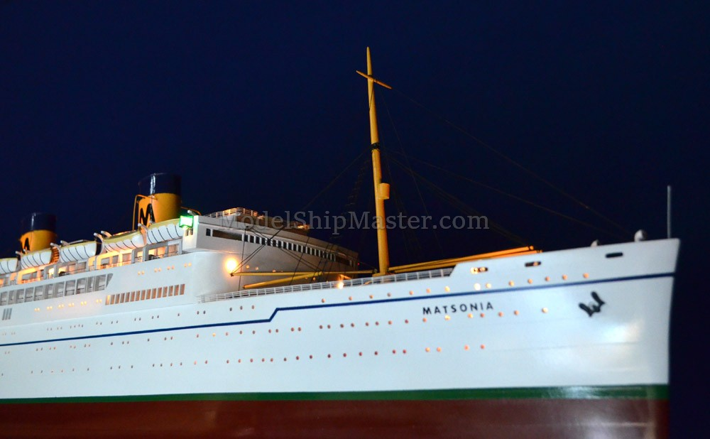 Authentic And Beautiful Ocean Liner Models From Model Ship Master - Classic cruise ships for sale