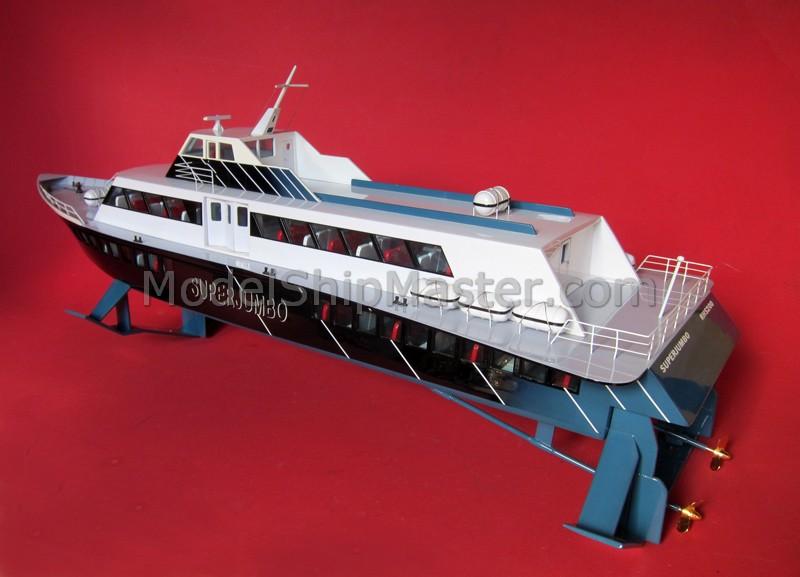Hydrofoil model