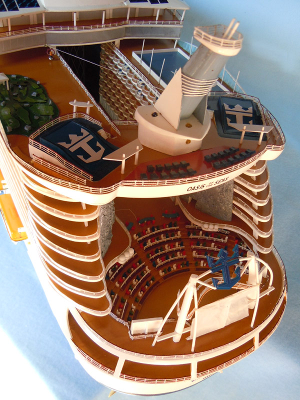 Oasis Of The Seas Cruise Ship Model