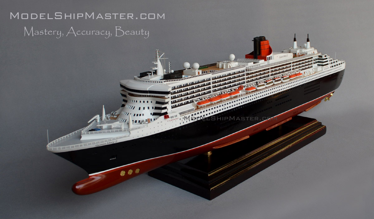 Queen mary 2 model for Garderobe queen mary 2