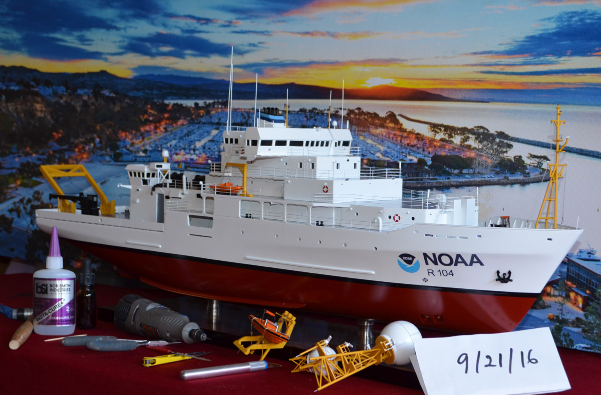 Noaa Ronald H Brown Reseach Ship Model