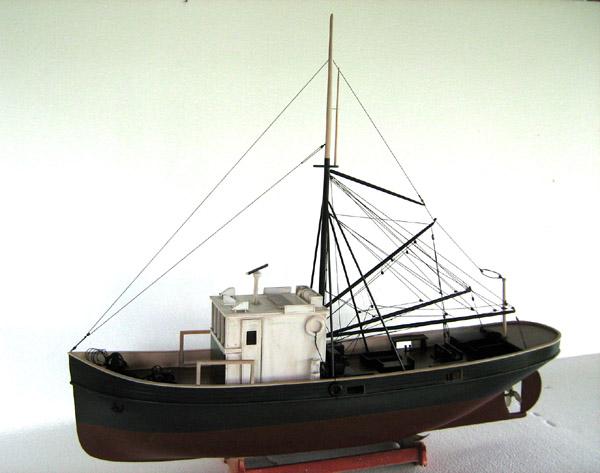 Model cars model tanks and rare ship models for Fishing boat types