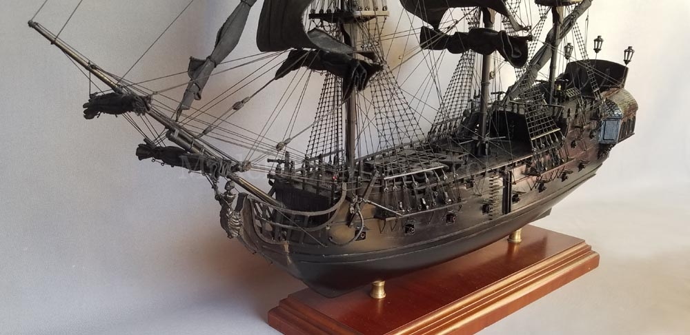 Black Pearl Pirate Ship Model