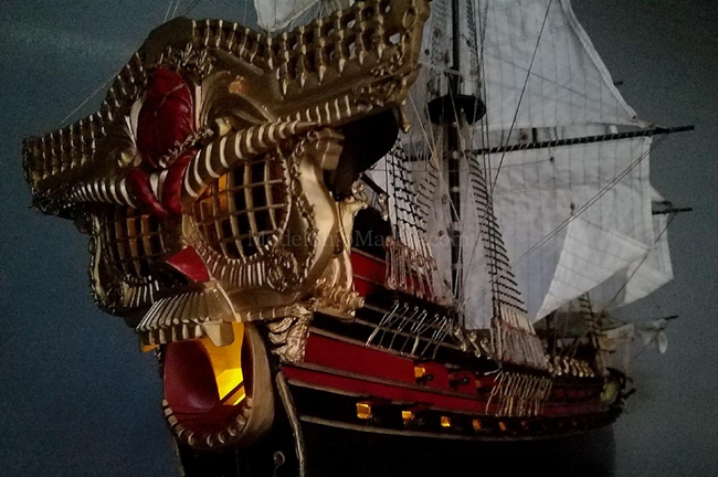 Models of Famous Pirate ships