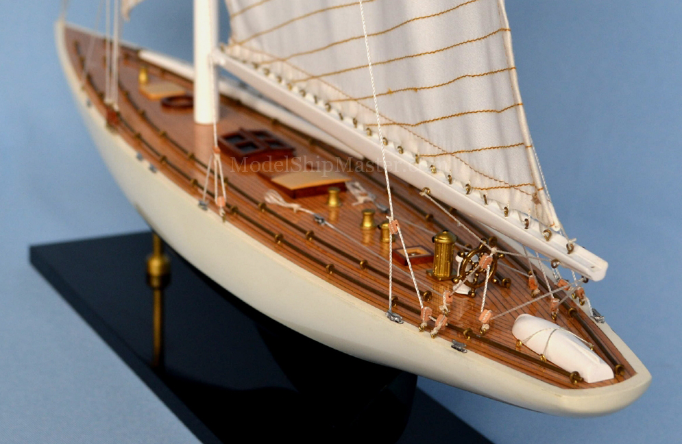 America's Cup Enterprise J-Yacht model