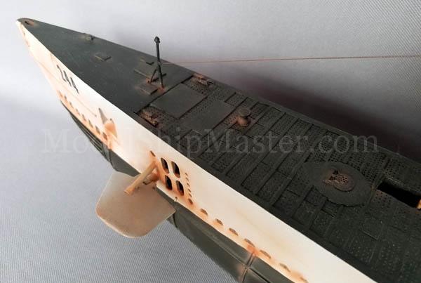 USS Cavalla SS-244 submarine model